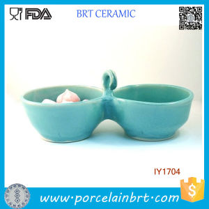 Double Serving Bowl Water and Food Pet Accessories Wholesale China pictures & photos