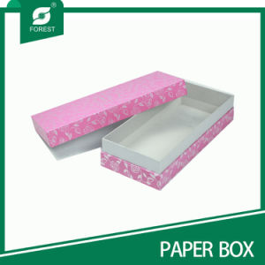 Square Pink Cardboard Rigid Gift Box (FP200070) pictures & photos