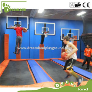 Wholesale Commercial Bungee Jumping Trampoline with Basketball Hoops pictures & photos