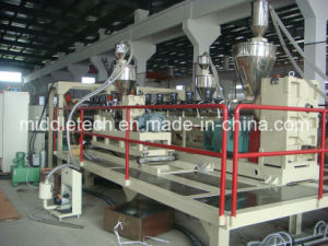 Single Screw Soft PVC Pipe / Sheet Extrusion Line pictures & photos