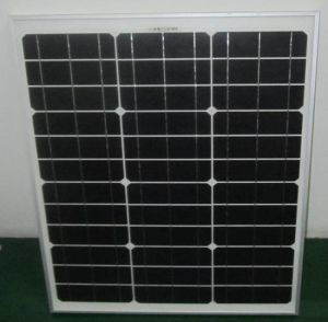 18V 45W 50W Monocrystalline Solar Panel PV Module with Ce Approved pictures & photos