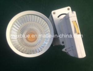 18W White/Black Epistar COB LED Track Lighting pictures & photos