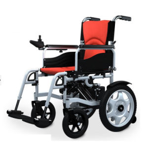 Foldable Electric Wheelchair for The Disabled and Elderly People (BZ-6401) pictures & photos