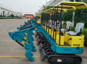 New Condition and Ce ISO, Ce ISO TUV Certification Xiniu Small Excavators Mini Dozer Diggers pictures & photos