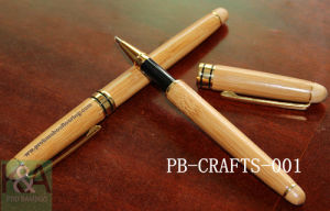 Eco-Friendly Smooth Writting Bamboo Pen / Gel Ink Pen/Gift Pen/Bamboo Crafts