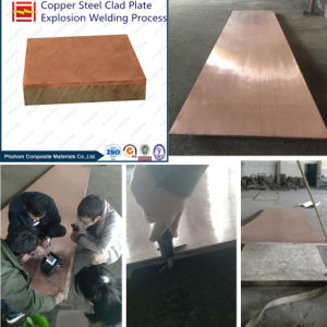 Clad Plate in Copper Steel Titanium pictures & photos