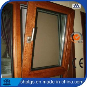 100 Series Double Glazed Aluminium Wooden Horizontal Opening Window
