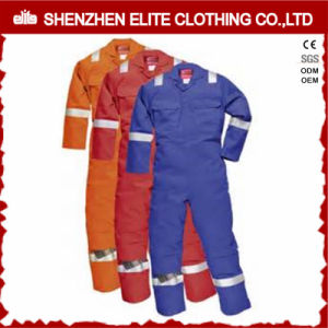 Cheap Safety Reflective Work Wear 100% Cotton Twill Coverall (ELTHVCI-21) pictures & photos