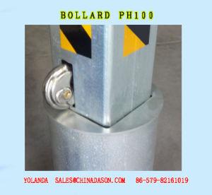 Manual Rising/Retractable Bollard pH100 pictures & photos