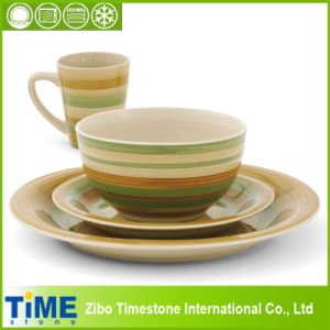High Quality Hand Made Stoneware Dinnerware Set (1503201) pictures & photos