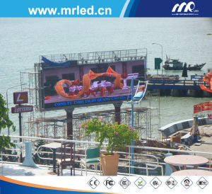 P10 Outdoor Advertising LED Screen in Vietnam pictures & photos