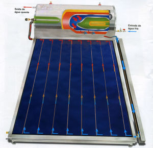 Compact Flat Plate Solar Heating pictures & photos