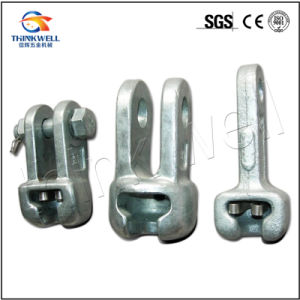 Forged Galvanized Pole Line Hardware Socket Clevis Socket Eye pictures & photos