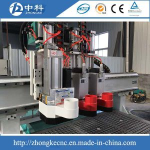 Italy Hsd Boring Unit Automatic Tool Change Wood Doors Producing Machine pictures & photos