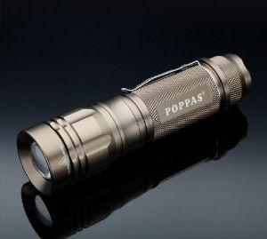 Portable 10W CREE Xm-L T6 LED Aluminum Camp Flashlight pictures & photos
