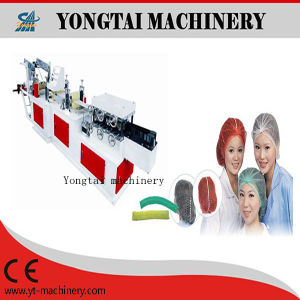 PE / Nonwoven Mob Clip Bouffant Cap  Making Machine pictures & photos