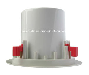 Indor Coaxial Ceiling Speaker with Iron Cover for Public Address System