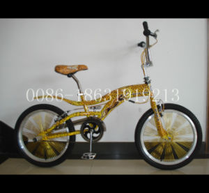 "Leopard Print Frame Bike 20"" Free Style Bicycle (HC-FS-2091) pictures & photos"