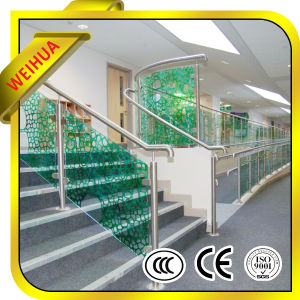 8mm 10mm Framless Toughened Glass for Handrail Railing pictures & photos