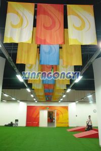 Customized Design Hanging Banner/Flying Banner pictures & photos