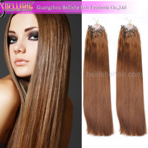 Hot Sell Popular Brazilian Virgin Double Drawn Hair Extensions Micro-Ring Hair