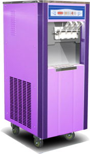 Restaurant Commercial Soft Ice Cream Making Machine (Oceanpower OP3328D) pictures & photos