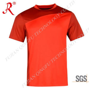 High Elasticity Men′ S Sport T-Shirt for Running (QF-S1012) pictures & photos