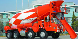 China Brand Concrete Mixer Trailer pictures & photos