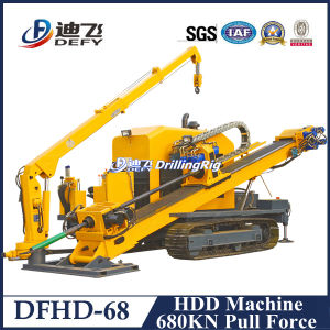 Dfhd-68 680kn Pull Force Horizontal Drilling Machine for Water Pipe pictures & photos