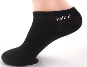 Custom Logo Polycotton Unisex Ankle Socks pictures & photos