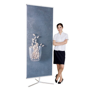 Trifold--Banner Stand Patented Rotating Foldable Base pictures & photos