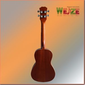 All Sapele Plywood Ukulele with Laser pictures & photos