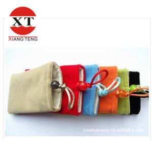 Small Gift Velvet Pouch Bag Stand-up Bag Package Promotion pictures & photos