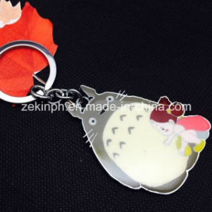 Custom Cute Animal Shape Metal Key Ring Supplier pictures & photos