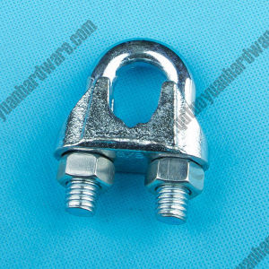 Rigging Hardware Us Type 5/8 Galvanized Malleable Wire Clamp pictures & photos