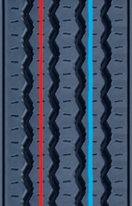 Precured Tread Rubber for Tire Retreading-Pattern D