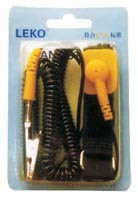 Anti Static PU Sticky Wrist Strap Used in Electronic Assembling Line pictures & photos