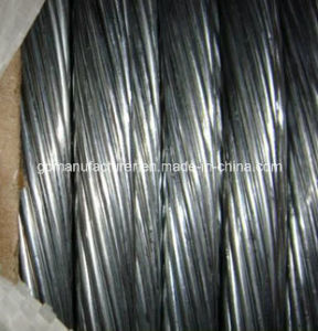 Hot Dipped Zinc-Coated Galvanized Steel Wire Strand pictures & photos