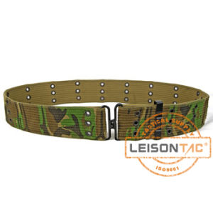 Military Tactical Camouflage Canvas Belt with ISO Standard pictures & photos