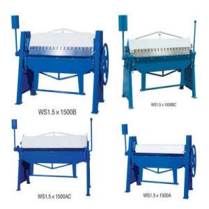 Manual Iron Bender/Manual Folding Machine / Manual Sheet Metal Folder pictures & photos