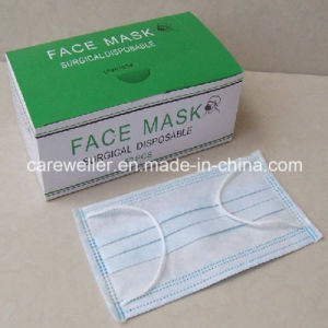 Disposable Non-Woven Surgical Face Mask pictures & photos