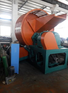Full-Auto Waste Tyre Recycling Production Line, Tire Shredder for Sale pictures & photos