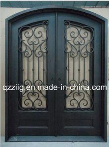 Popular Design Iron Enterior Door (ZY-IR086)