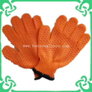 Rubber Coated Anti-Cut Gloves in Work Gloves