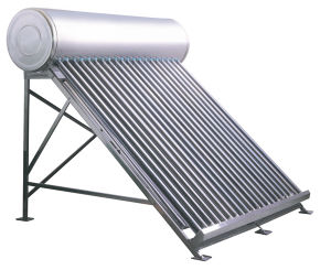 Chrome Plate Solar Water Heater for Mexico pictures & photos