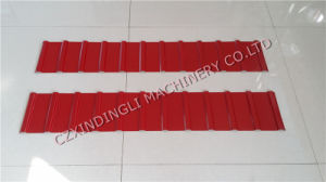Russian Popular Style C21 Roof/Wall Panel Roll Forming Machinery pictures & photos
