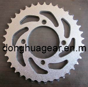 Plate Wheel Steel Sprocket (for auto and transmission) pictures & photos