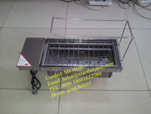 Portable Automatic Charcoal or Gas BBQ Machine pictures & photos