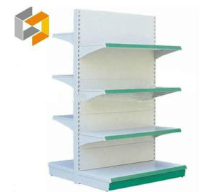 Supermarket&Store Display Equipment/Metal Gondola Storage Shelf&Rack System (SGL-013)