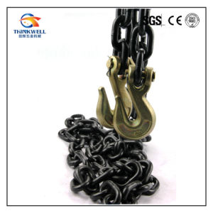 Forging Part Steel G80 Lashing Chain with Grab Hook pictures & photos